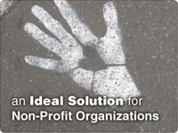 Websites for non-profits.